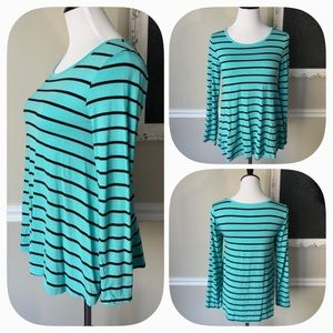 Justice Striped Blouse